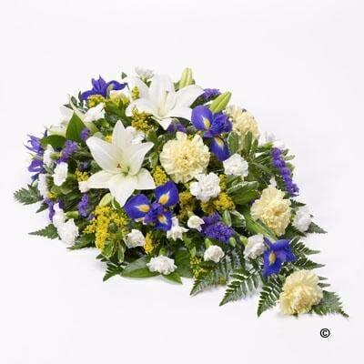 20141123 lily and iris teardrop spray lemon and blue
